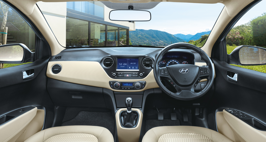 Hyundai car Interion